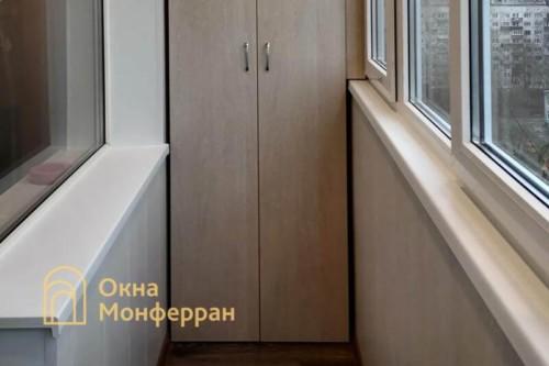 09 Остекление скругленного балкона под ключ