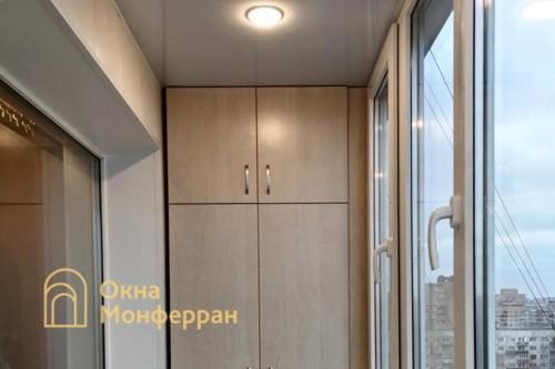 10 Остекление скругленного балкона под ключ