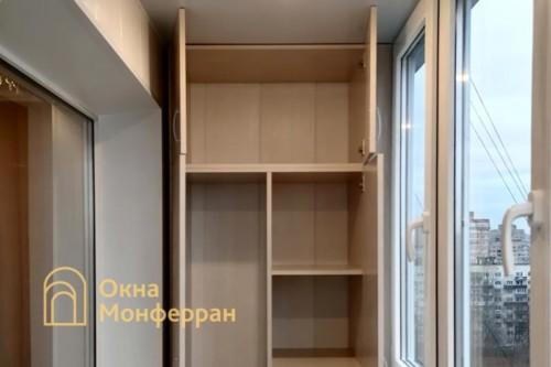 11 Шкаф на балконе
