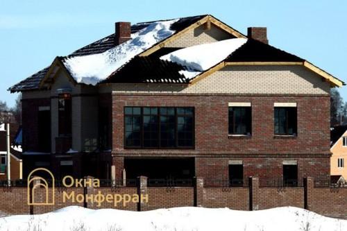 03 Остекление загородного дома, пос. Парголово