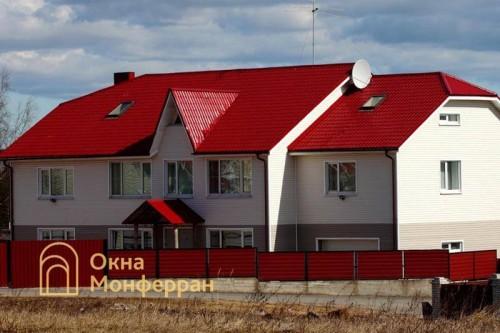 06 Остекление загородного дома пос Кузьмолово