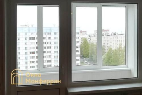 07 Замена балконного блока