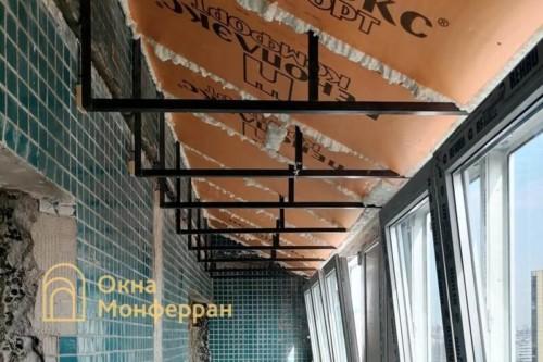 12 Утепление крыши пеноплексом