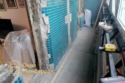 14 Демонтаж балконного блока