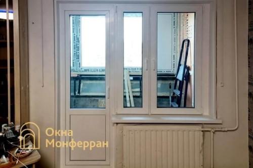 15 Монтаж балконного блока