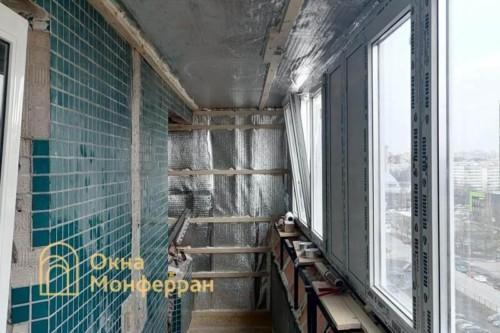 17 Утепление балкона