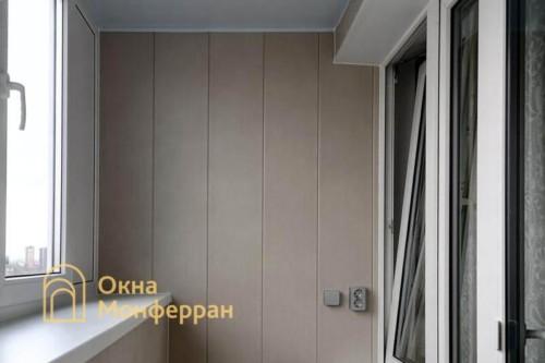 24 Отделка балкона