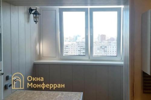 27 Присоединение балкона к комнате