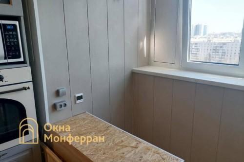 31 Присоединение балкона к комнате