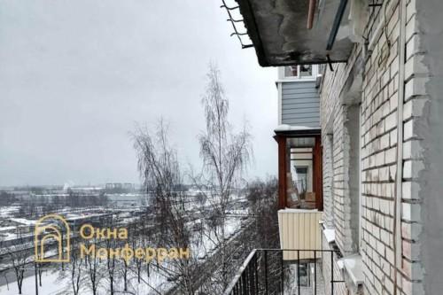 02 Балкон в брежневке до выполнения работ