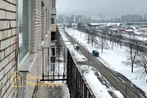 03 Балкон в брежневке до выполнения работ