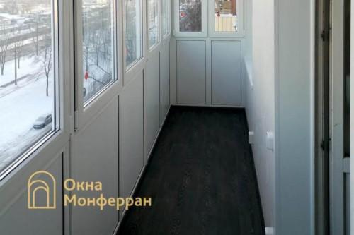 14 Монтаж пола на балконе