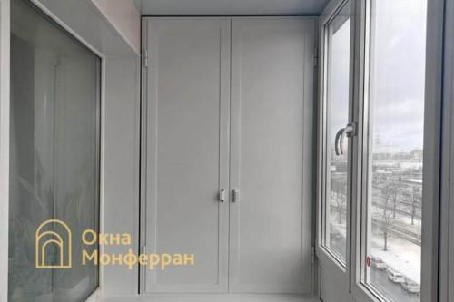 19 Монтаж шкафа на балкон