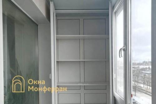 21 Монтаж шкафа на балкон
