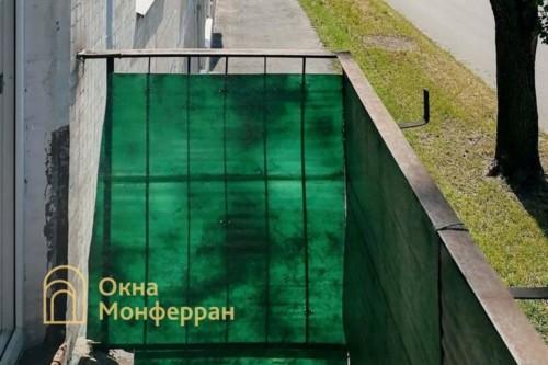 02 Балкон в хрущевке до выполнения работ