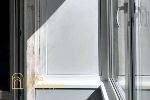 06 Отделка балкона в хрущевке