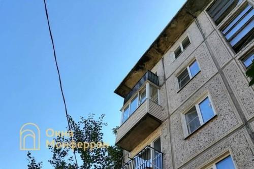 01 Балкон в хрущевке до выполнения работ