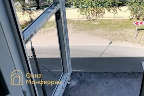 04 Монтаж остекления балкона в пол