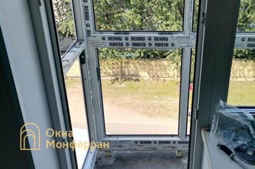 05 Монтаж остекления балкона в пол