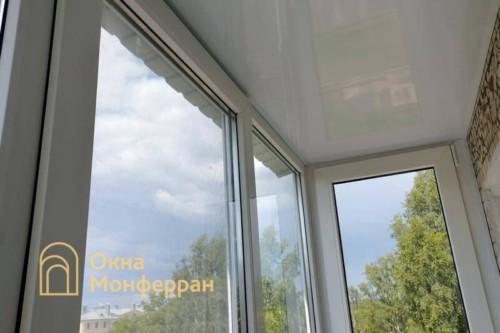 09 Остекление балкона в пол в хрущевке