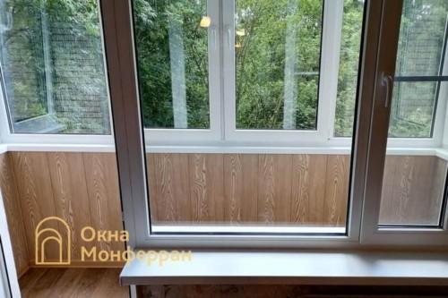 10 Монтаж балконного блока