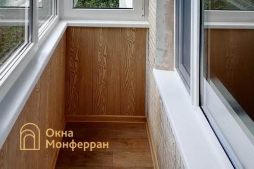 11 Внутренняя отделка балкона