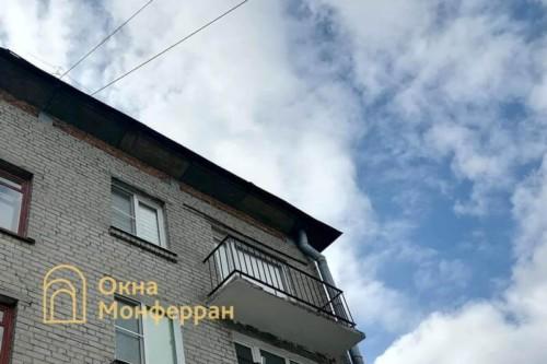01 Балкон в хрущевке до начала работ