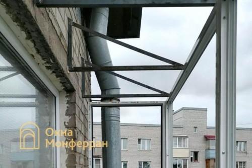 04 Монтаж остекления и крыши