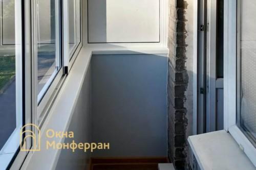 06 Внутренняя отделка балкона в хрущевке