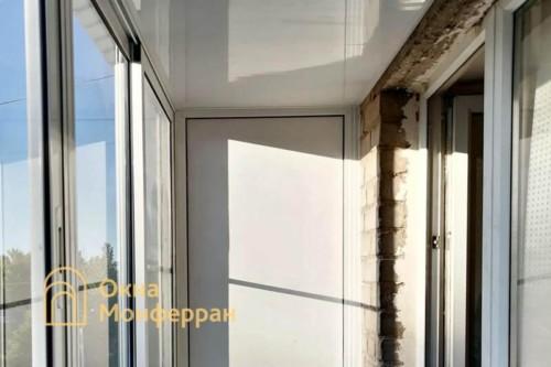 07 Внутренняя отделка балкона в хрущевке