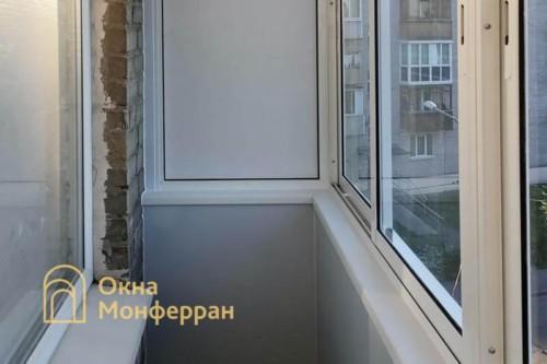 08 Внутренняя отделка балкона в хрущевке