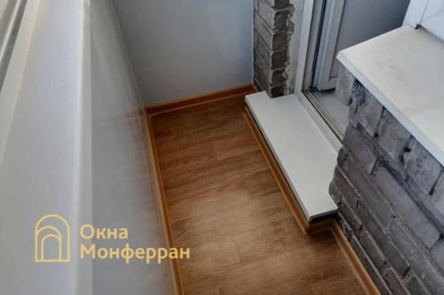 09 Внутренняя отделка балкона в хрущевке
