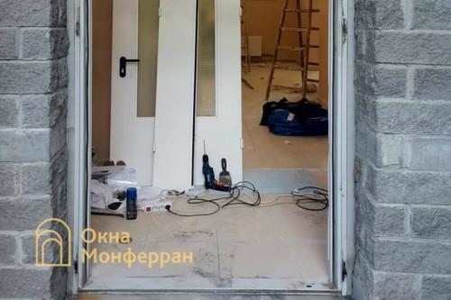 01 Дверь №1 до выполнения работ