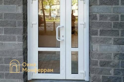 03 Установка металлопластиковой двери №1