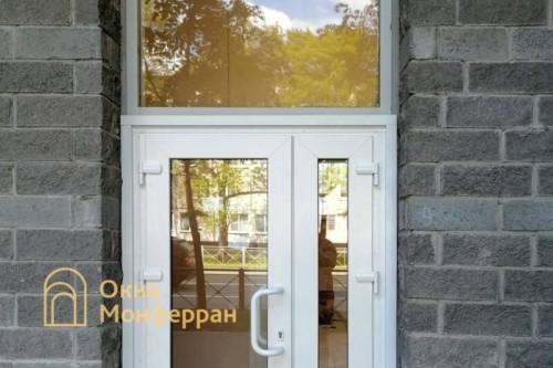 04 Установка металлопластиковой двери №1