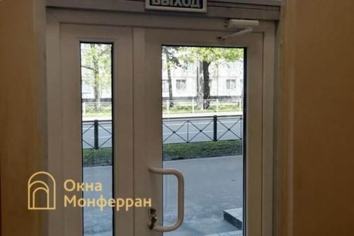 06 Установка металлопластиковой двери №1