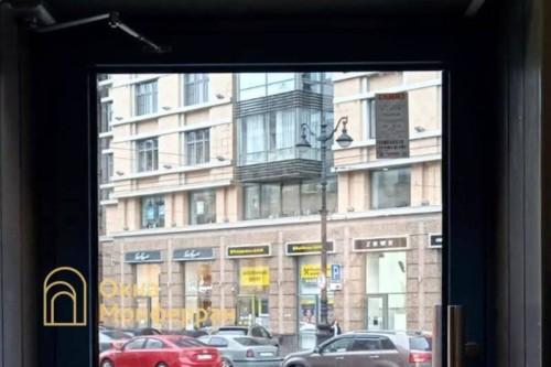 04 Установка алюминиевой входной двери