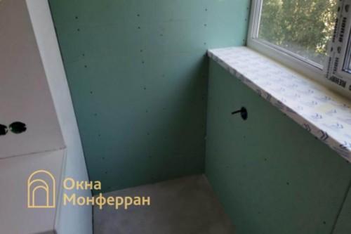 12 Утепление и отделка стен лоджии гипроком