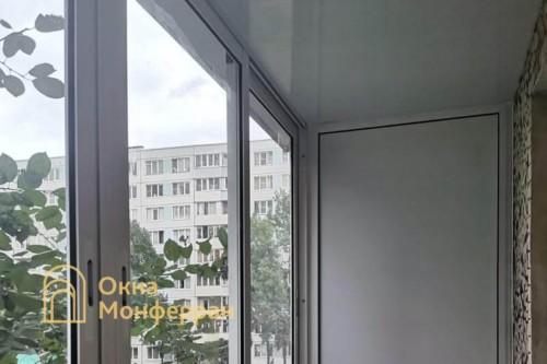 05 Холодное остекление балкона в хрущевке
