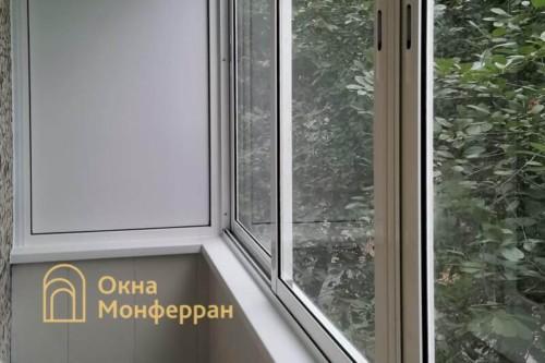 06 Холодное остекление балкона в хрущевке