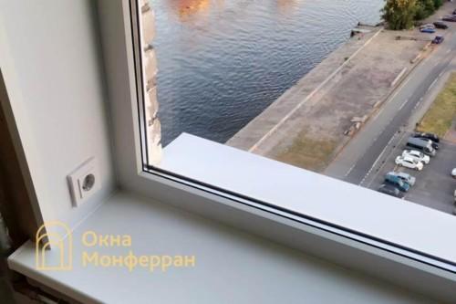05 Установка эркерного пластикового окна