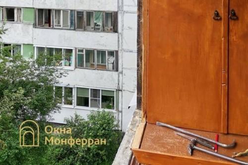 04 Демонтаж старого остекления